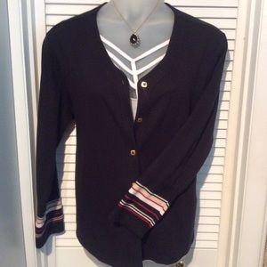 Jaclyn Smith Plus 1X cardigan. EUC great for fall!